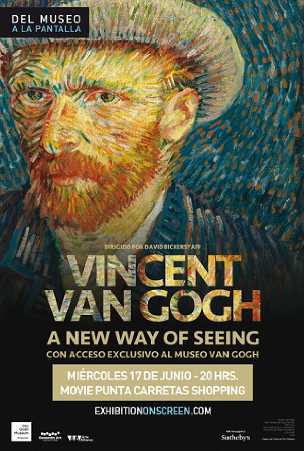"Sorteo de entradas para ""Van Gogh: a new way of seeing"", cortesía del Grupo Movie"